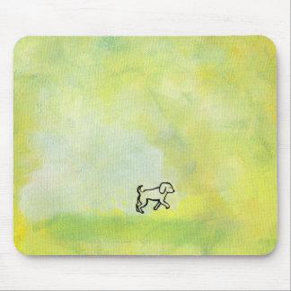 Titled:  Digger - fun dog art Mouse Pad