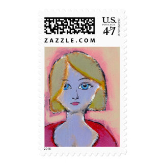 Titled:  Eventually We Do What Must Be Done Postage Stamp