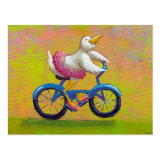 Titled:  Riding to the Recital - PERSONALIZE IT Postcard