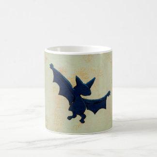 Titled:  Ritual Dance - fun bat mug - version #1