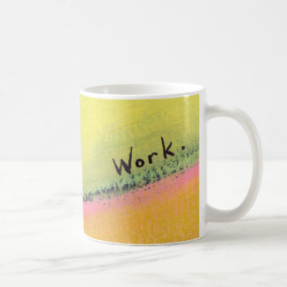 Titled Uphill - working for a better view Mugs