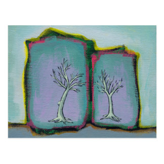 Titled Waiting for Leaves - bare trees Postcards