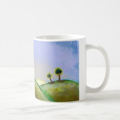 Titled:  What Seekers Find - glorious landscape Classic White Coffee Mug
