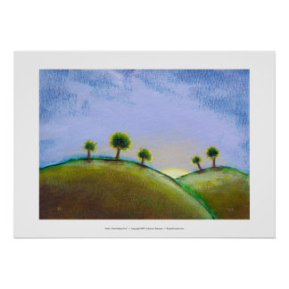 Titled:  What Seekers Find - glorious landscape Print