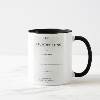 Titlepage a morir Traumdeutung de Sigmund Freud Taza