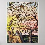 Titlepage de 'canciones de la inocencia y de Exper Impresiones