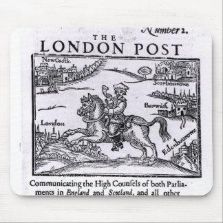 Titlepage 'de las noticias de Londres Tapete De Ratón