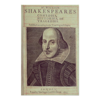 Titlepage de 'Sr. Guillermo Shakespeares Poster