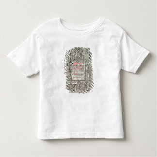 Titlepage English translation of the Great Toddler T-shirt