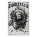 Titlepage first edition of 'Les Miserables' Print
