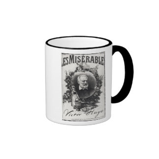 Titlepage first edition of 'Les Miserables' Ringer Mug