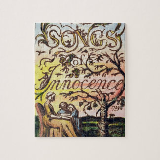 Titlepage from 'Songs of Innocence and of Experien Jigsaw Puzzle