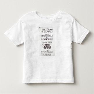Titlepage 'Les Caracteres de Theophraste Toddler T-shirt