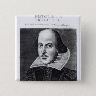 Titlepage, 'Mr. William Shakespeares Pinback Button