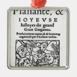Titlepage of 'Gargantua' by Francois Rabelais Ornaments