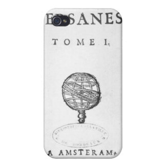 Titlepage of 'Les Lettres Persanes' iPhone 4/4S Cover
