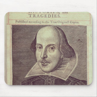 Titlepage of 'Mr. William Shakespeares Mouse Pad