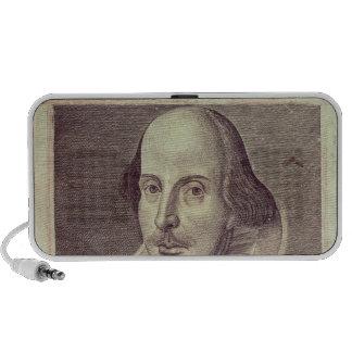 Titlepage of 'Mr. William Shakespeares Travel Speakers