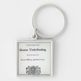 Titlepage of 'Philosophical Essays Keychain