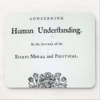 Titlepage of 'Philosophical Essays Mousepads