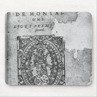Titlepage of the first edition of 'Essais' Mouse Pad