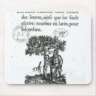 Titlepage of the first French-Latin dictionary Mouse Pad