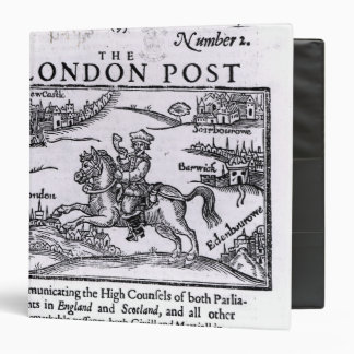 Titlepage of 'The London News' 3 Ring Binder