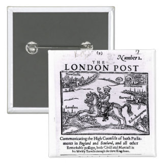 Titlepage of 'The London News' Pin