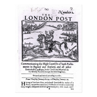 Titlepage of 'The London News' Postcard