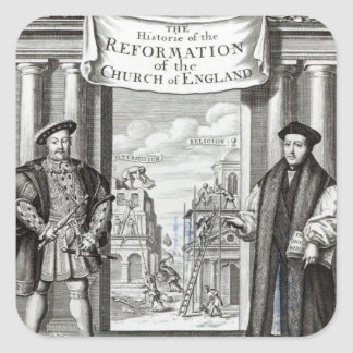 Titlepage The History Reformation Church England Stickers