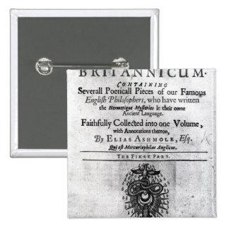 Titlepage 'Theatrum Chemicum Britannicum' Button