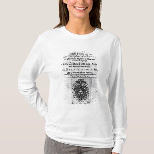 Titlepage 'Theatrum Chemicum Britannicum' T-Shirt