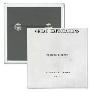 Titlepage to Great Expectations by Charles Pinback Button