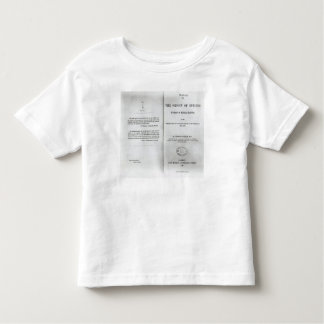 Titlepage to 'On the Origin of Species' Toddler T-shirt