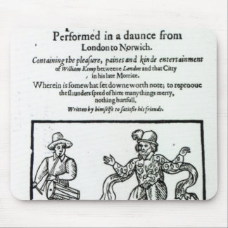 Titlepage to William Kemp's Mouse Pad