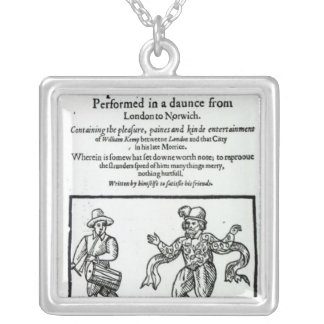 Titlepage to William Kemp's Square Pendant Necklace