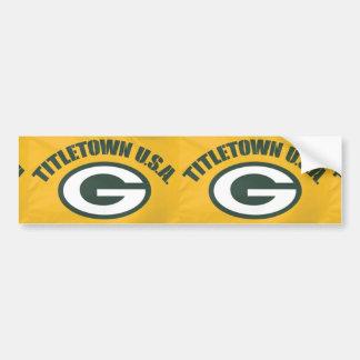 Titletown Bumper Sticker