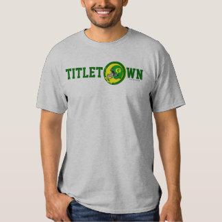 Titletown Green Bay NFL Football Fans T-Shirt