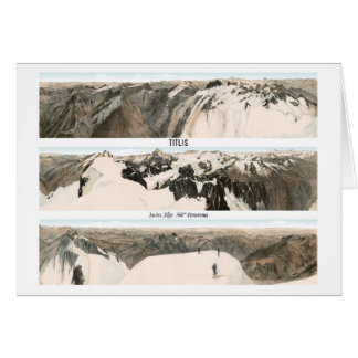 TITLIS Swiss Alps 360° Panorama Card