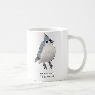 titmice trivia classic white coffee mug