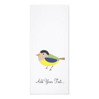 Titmouse 4x9.25 Paper Invitation Card