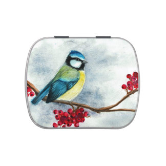 Titmouse Jelly Belly Candy Tin