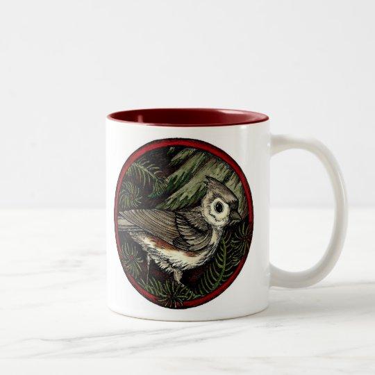 Titmouse Winter Bird Mug (large)