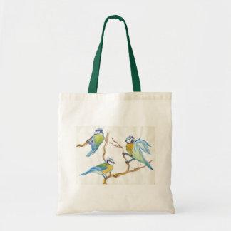Titmouses Tote Bag