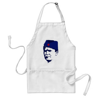Tito josip Broz Portrait illustration Adult Apron