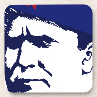 Tito josip Broz Portrait illustration Coaster
