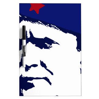 Tito josip Broz Portrait illustration Dry Erase Board