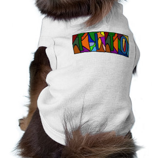 TITO ~ PERSONALIZED BIG LETTERS PET-WARE FOR DOGS! TEE
