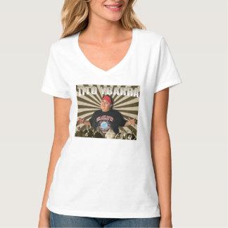 Tito Sunburst Ladies V Neck T-Shirt