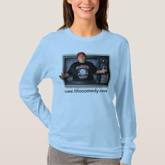 tito tv ladies long sleeve 2 T-Shirt